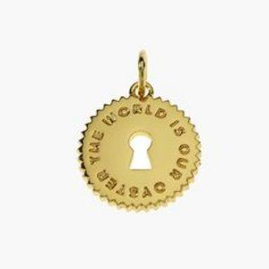 India Hicks Token -The World is our Oyster - Gold